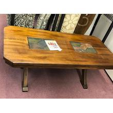 Sunny Designs coffee table solid oak