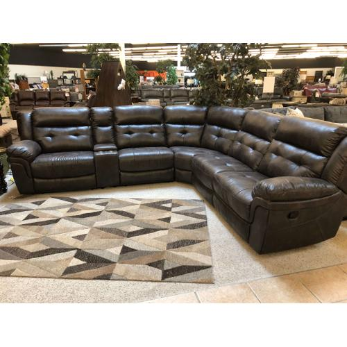 Cheers - 6PC Manual Reclining Sectional