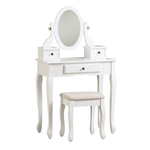 ASHLEY B502-22 Kaslyn Vanity And Mirror With Stool