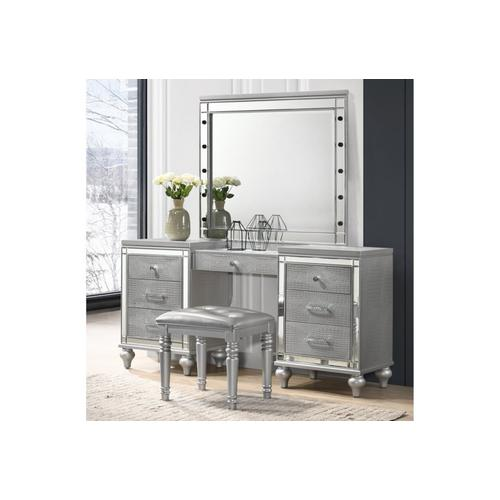 3pc Grey Vanity Set, Valentino