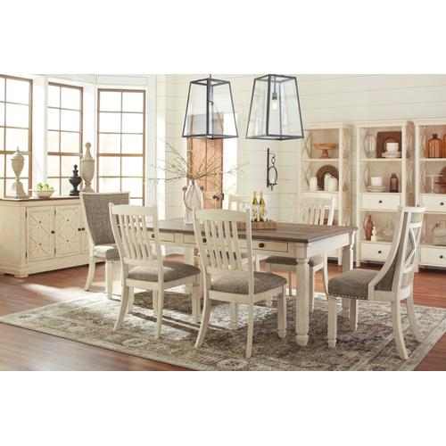 Ashley - Bolanburg Table & 6 Chairs Antique White