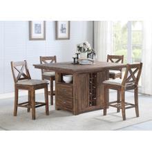 Kitchen Island Table & 4 Stools