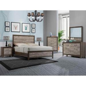Packages - Jaren Qn Bed, Dresser, Mirror, Chest and Nightstand