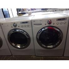 Refurbished LG Front Load Washer Dryer Set Please call store if you would like additional pictures. This set carries our 6 month warranty, MANUFACTURER WARRANTY AND REBATES ARE NOT VALID (Sold only as a set)