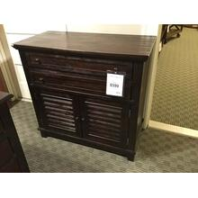 SECRETARY CABINET WITH PULL OUT KEYBOARD TRAY