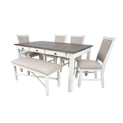 White Prairie Chair