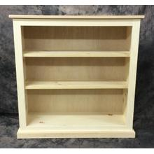 See Details - Maine Made 36X36 Bookcase 36W X 36H X 13D Pine Unfinished