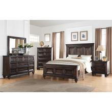 See Details - Queen Bed, Dresser, Mirror & (1) Nightstand: Add $100 for King-Sizes
