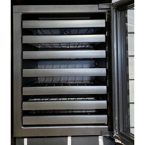 """U-Line - U-Line 3024WCS00     Stainless Right-hand Modular 3000 Series / 24"""" Wine Captain® / Digitally controlled single-zone convection cooling system"""