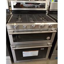See Details - 30-Inch Wide Double Oven Gas Range With True Convection - 6.0 Cu. Ft.