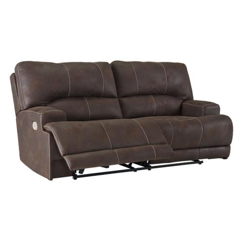 Kitching Power Reclining Sofa with Adjustable Headrest