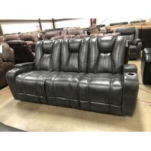 See Details - Power Headrest and Reclining Sofa