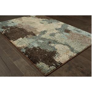 "Oriental Weavers Usa, Inc. - 6'7"" X 9'"" EVOLUTION AREA RUG     (8801B,92018)"