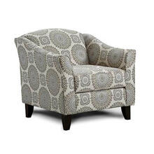 FUSION 452 Brianne Twilight Accent Chair