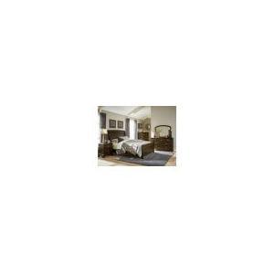 Fostoria Qn Bed, Dresser, Mirror and Nightstand