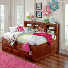 Merlot Full Bookcase Daybed