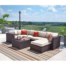 Renway Outdoor Sectional w/ Table