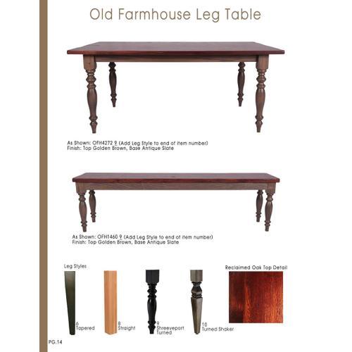 Old Farmhouse Table