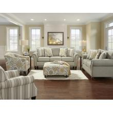 Romero Sterling Sofa & Loveseat