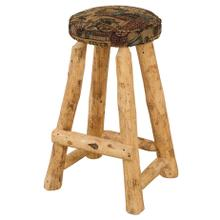 "RRP391 24"" Round Counterstool with Upholstered Seat"