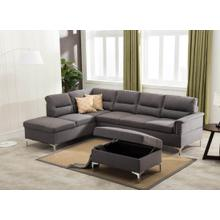 Larry - 2 PC Sectional & Ottoman