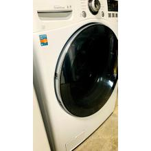 USED-  4.0 cu. ft. Ultra Large Capacity TurboWash Washer with Steam Technology- FLWAS27W-U  SERIAL #123