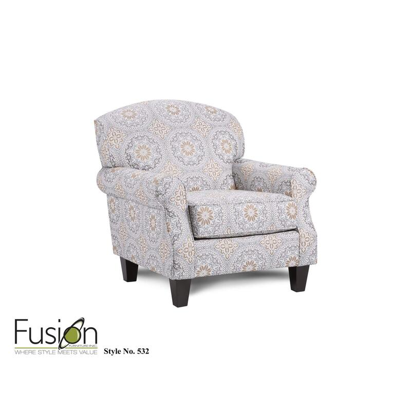 Evanwood Smokey Blue Accent Chair