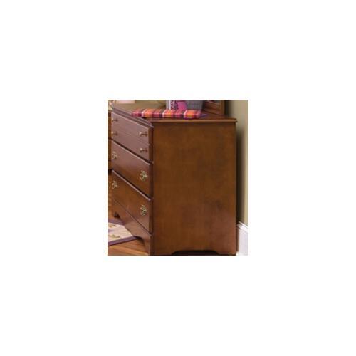 Carolina Furniture Works - Common Sense Cherry 3 Drawer Single Dresser