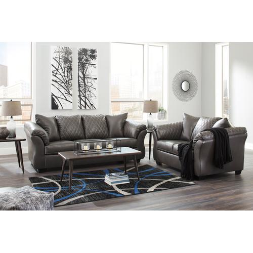 Betrillo Gray Sofa & Loveseat
