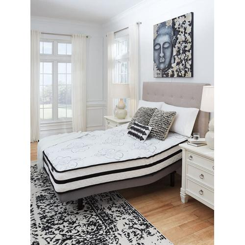 """Product Image - Randy-1 Queen 10"""" Hybrid Innerspring Mattress with Adjustable Power Base and Zoned Massage"""