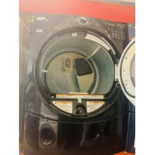 Product Image - USED- Black-on-Black Whirlpool® Duet® Super Capacity Plus Gas Dryer- FLGDRY27BLK-U SERIAL #1
