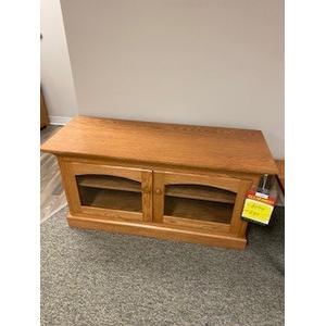 "Amish Craftsman - 50"" tv console"