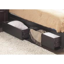 #303- 2 DRAWERS ON EITHER SIDE PLATFORM BED