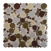 CM011 Burst Glass Mosaic - PURPLE MIX