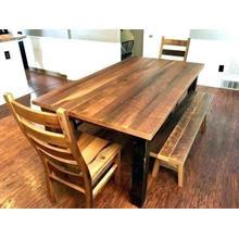 See Details - Barnwood Dining Set