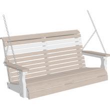 Plain Swing 4' Premium Birch and White