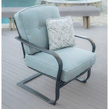 Agio Melbourne Cushioned Deep Seating C-Spring Chair