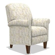 See Details - Fletcher High Leg Reclining Chair in Marigold   FLOOR SAMPLE - *ASIS*  (no warranty)