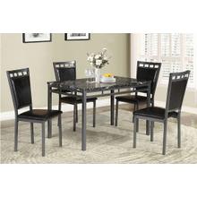 View Product - Maria - 5 PCS Dining Set - Gray
