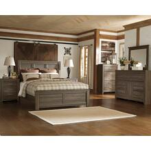 """View Product - 7 Piece Juararo Bedroom includes a Free 50"""" Samsung QLED Smart TV"""