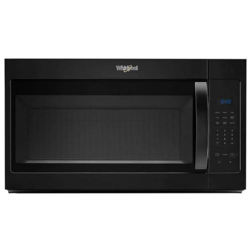 Whirlpool 1.7CF Black Over the Range Microwave