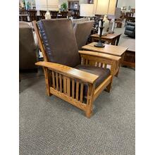 See Details - Amish Morris Mission Chair