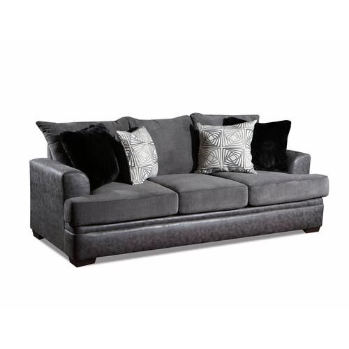 3650 Akan Graphite Sofa and Loveseat