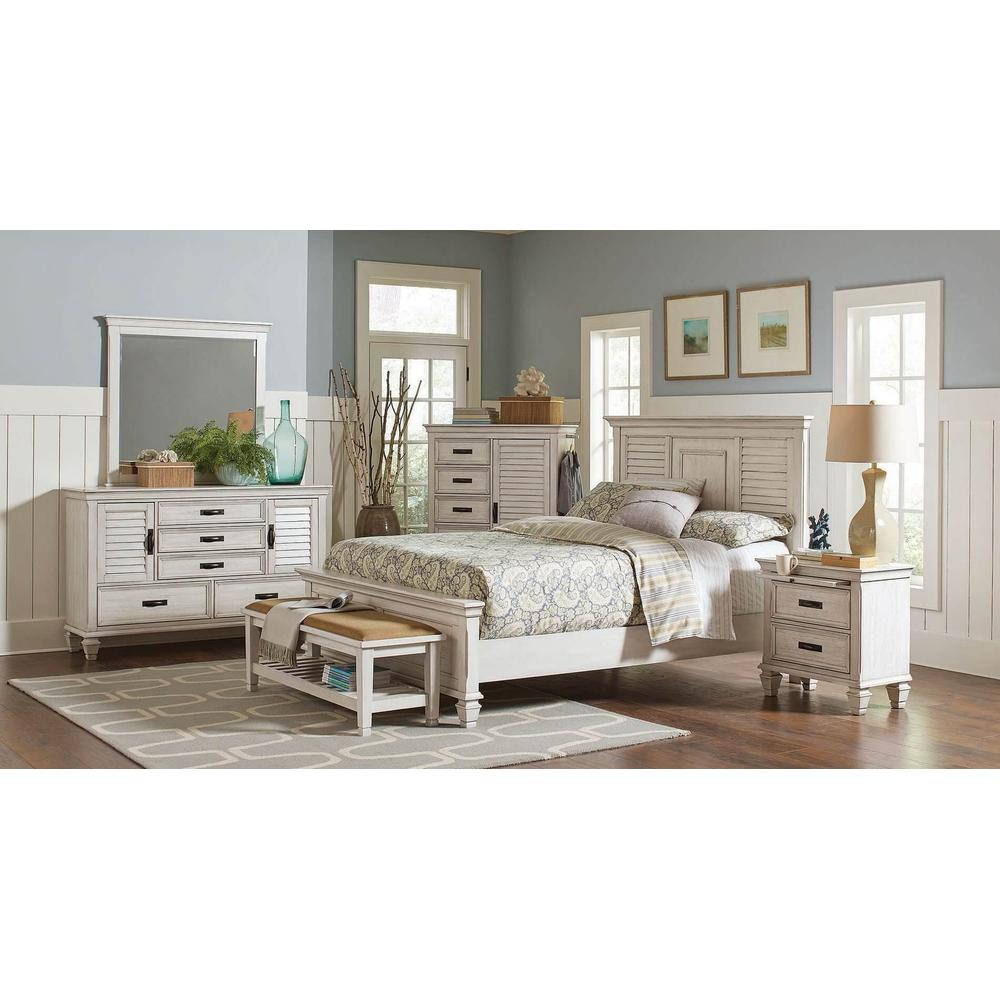 Franco 4Pc Cal King Bed Set