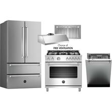 BERTAZZONI MASTER SERIES 4 PIECE PACKAGE