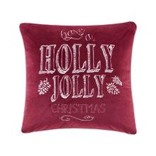 Product Image - Holly Jolly Christmas Square Dec Pillow