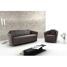 Hotel Italian Leather Sofa & Chair