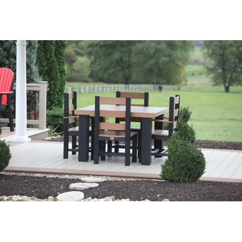 4' Square Table Set