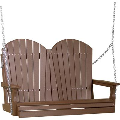 Adirondack Swing 4' Chestnut Brown
