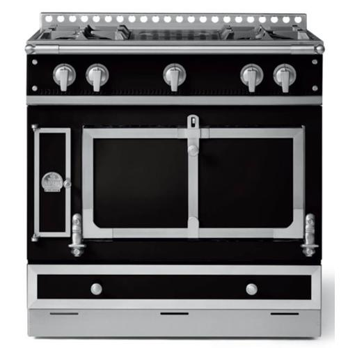 Chateau 90 (C3) - 2-Gas Burners - 1-Small French Plaque - 1-Lava-Rock Grill